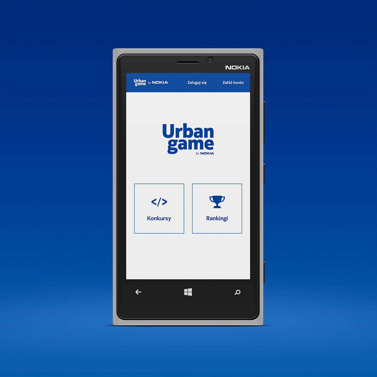 Urban Game by Nokia - Home Screen