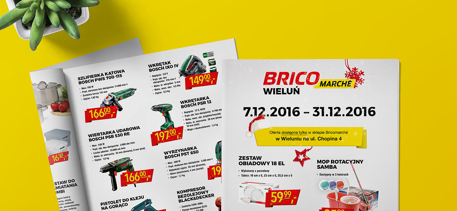 Bricomarche - Promotional Brochures & Poster